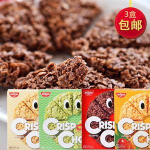 日本进口零食谷物燕麦片饼干条能量棒NISSIN日清牛奶巧克力麦脆批