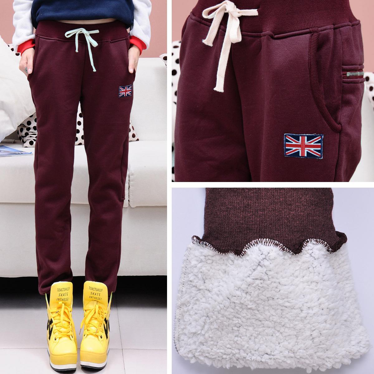 к 2015 году новые гарем брюки спортивные брюки женщин вскользь брюки утолщенными в осень и зима плюс бархат плюс здоровье зима loose хлопка брюки брюки