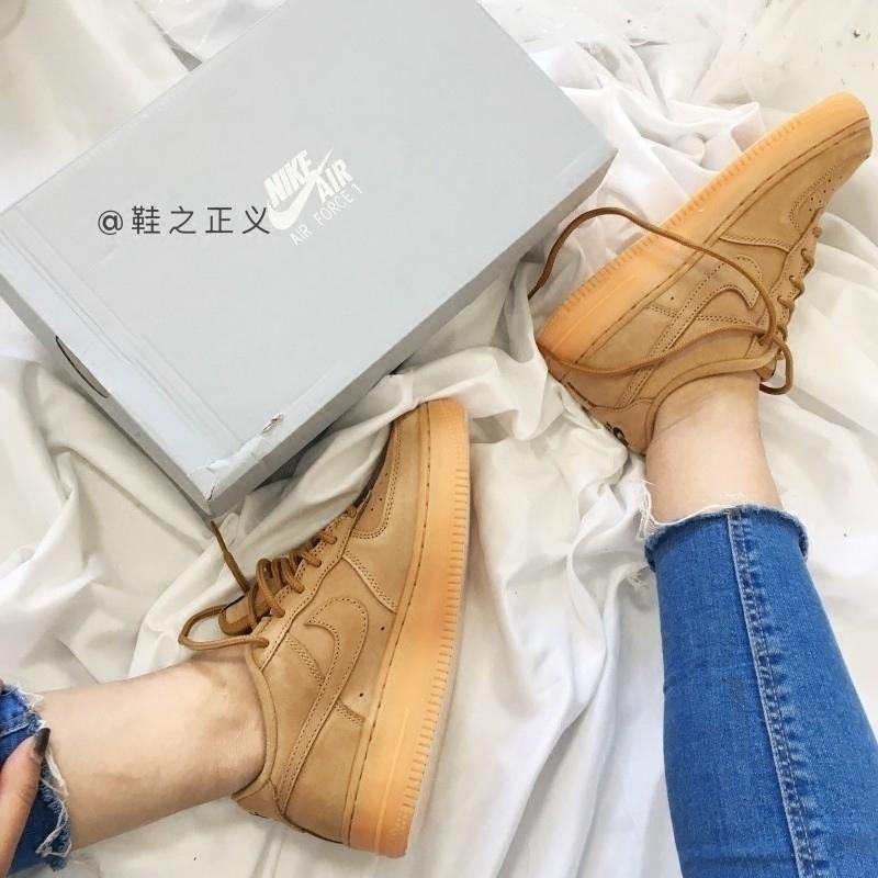耐克女鞋Nike Air Force 1 Low AF1小麦低帮 空军一号943312-200