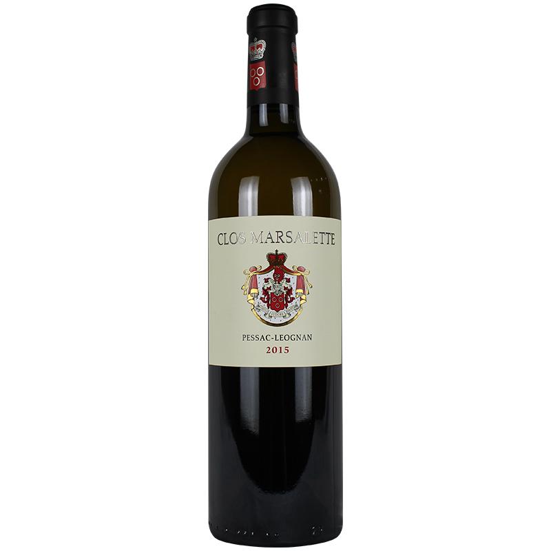 法国 马萨雷特酒庄干白 Chateau Clos Marsalette Blanc 2015年