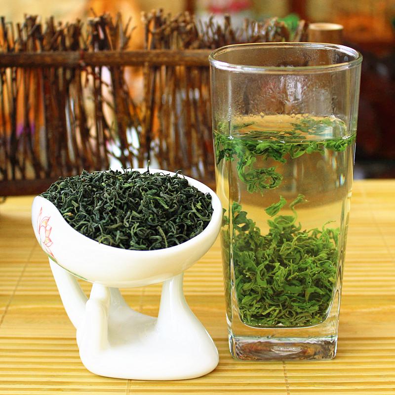 克浓香耐泡青岛崂山茶叶豆香包邮500年新茶春茶散装2021崂山绿茶