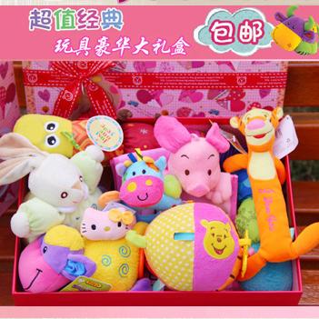 Baby подарочный набор baby младенческой новорожденных продукты пакет email полнолуние игрушки подарок пакет