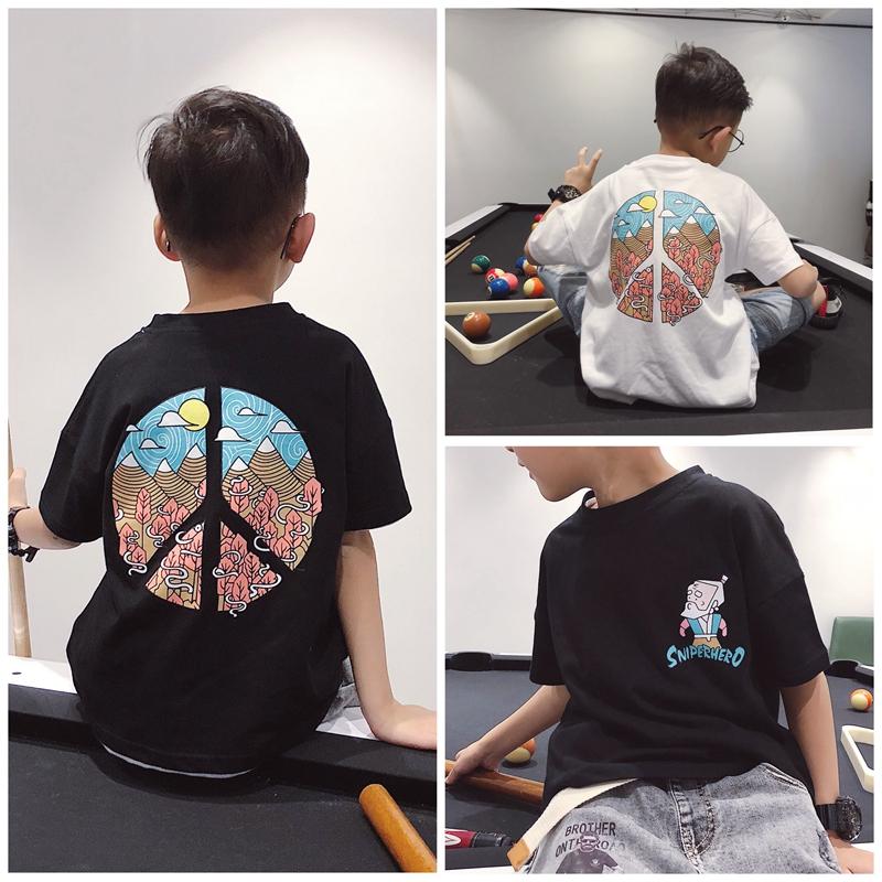 大童t恤男童短袖