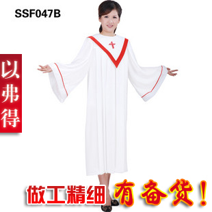 Ephod apparel clothing San Christian choir sang hymns serve a lot of stocking clothes SSF047B