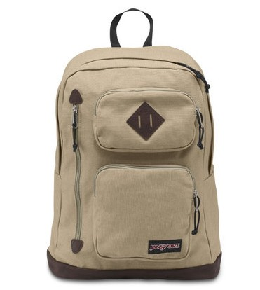 JS t13y Canvas Backpack can hold 15