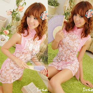 Counter genuine sexy lingerie uniforms temptation to suit pajamas transparent skirt cheongsam the Mood for Love