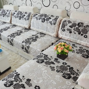Su Bodhi chenille fabric sofa cushion sofa slipcover sofa cover towel sofa cover sofa cushion slip