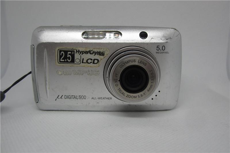 Olympus/奥林巴斯 u5000 U500 女生 复古原装二手旧老数码相机