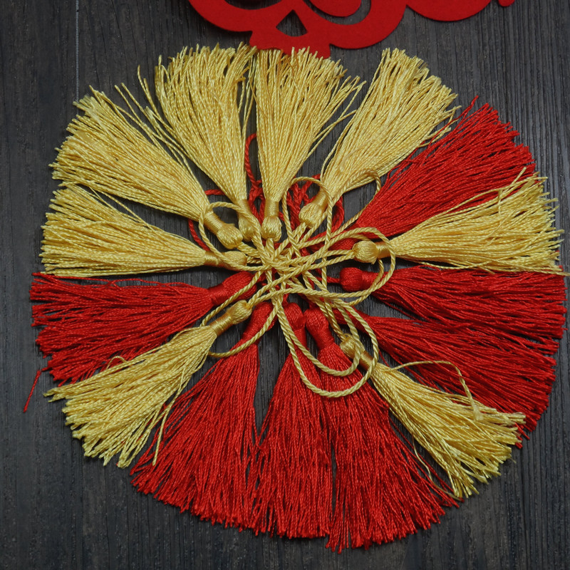 Бутик романтический свадьба китайский узел s подарок кулон свадьба статьи китайский узел подвески пригласительный билет кисточка кисточка