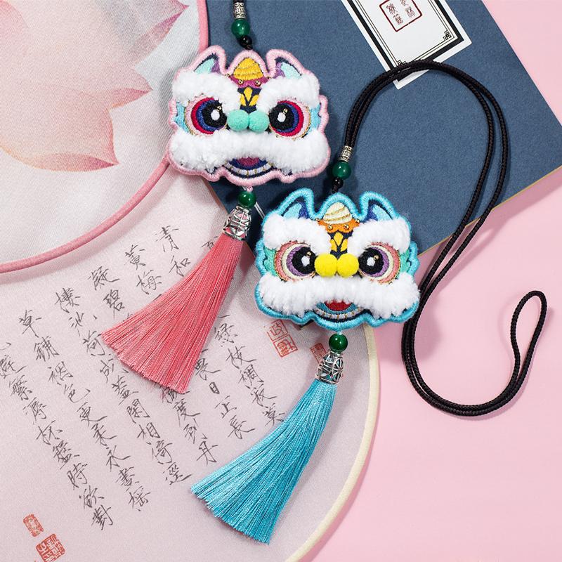 中国风手工diy刺绣自绣平安符荷包香囊挂件饰材料包端午节香囊包