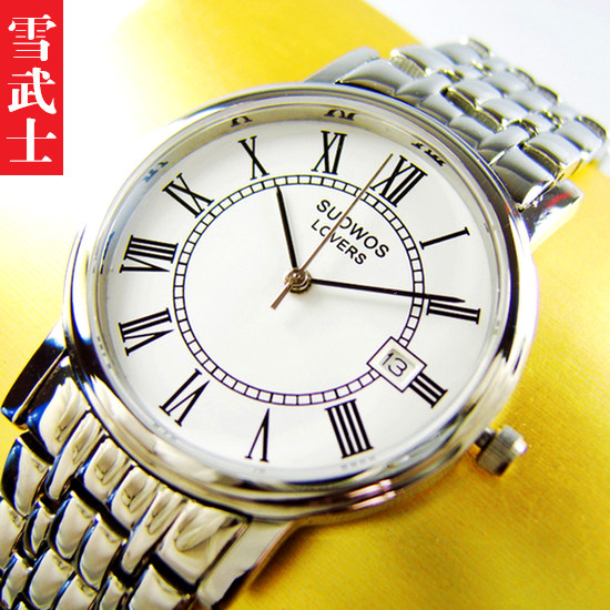 Ten years old authentic brand couple watch mens quality watch ultra thin fashion sapphire mirror for parents