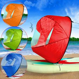 海洋舟船帆皮划艇专用帆kayak助力帆桨板SUP顺风帆折叠帆独木舟帆图片