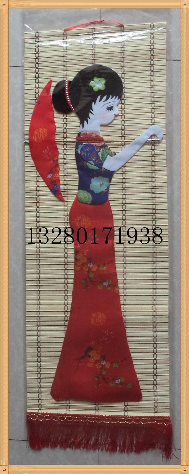 Большой размер высокой 82 см меньше количество народ характеристика ремесла статья бамбук ткань паста вешать декоративный живопись разнообразие необязательный