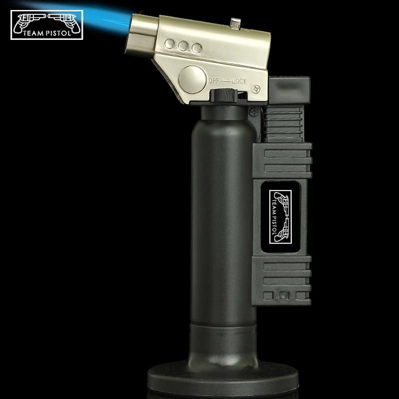 703艾灸焊枪直冲防风打火机点火器喷枪户外烘焙烧烤点碳雪茄 Изображение 1