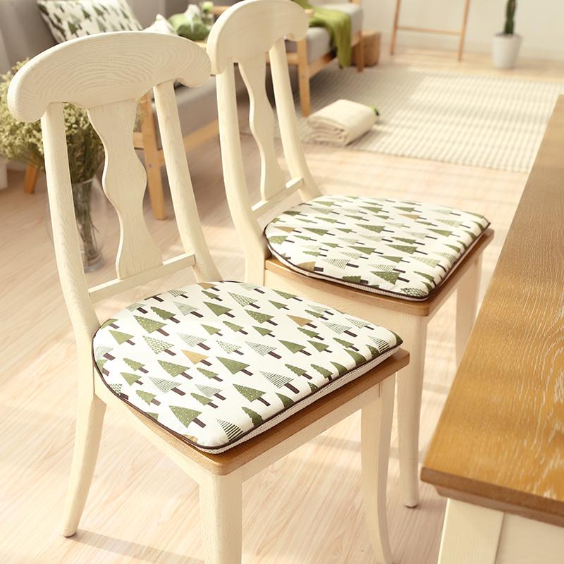 北欧温莎马蹄椅垫餐椅垫实木椅子凳子家用座垫现代简约马蹄形坐垫限6000张券