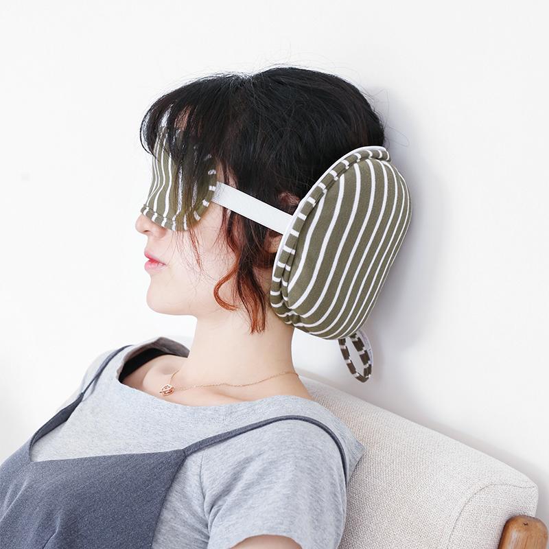 日式睡眠遮光夏天透气情侣旅行眼罩