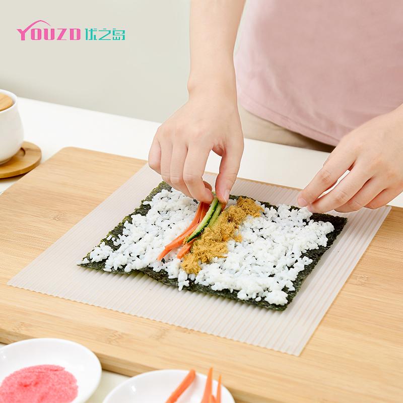 日式大号硅胶寿司帘DIY寿司模具家用料理肌肉卷帘做寿司制作工具