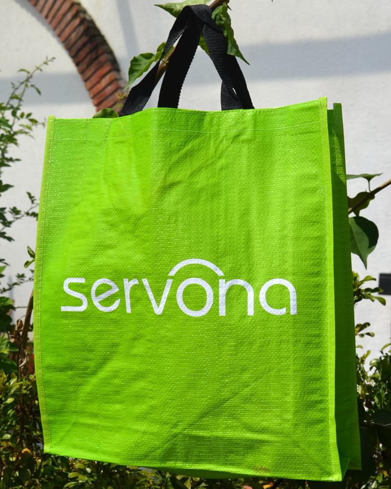 小清新浅草绿色结实编织蛇皮袋环保袋手提袋购物袋礼品袋收纳袋特