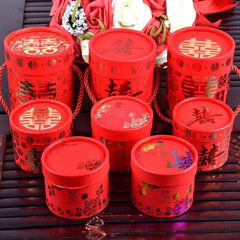 新娘送同事婚礼喜糖简约大号包装盒11月27日最新优惠