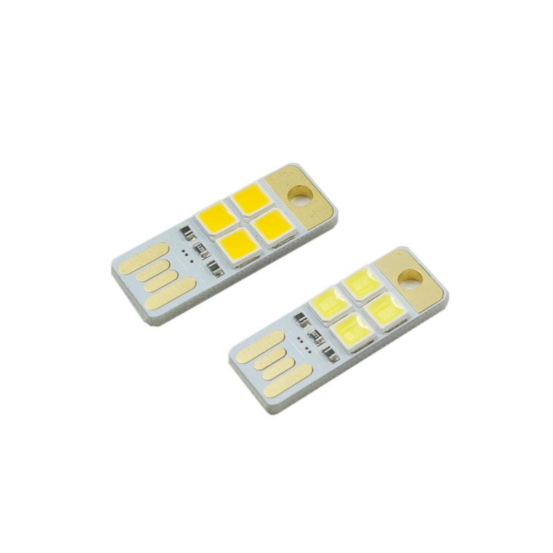 Мини крохотные тонкий автономное зарядное устройство usb свет led свет USB кемпинг свет 3LED компьютер ночной свет