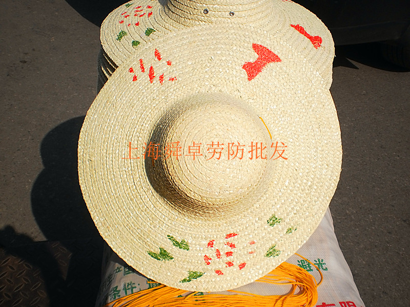 Старинная соломенная соломенная шляпа обычный соломенный шапка Солнцезащитный козырек вязанные Шляпа соломенной шляпы