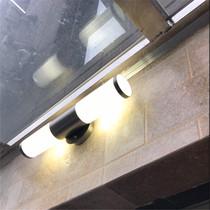 现代户外露台阳台花园门口围墙灯壁灯led包邮不锈钢室外防水防锈