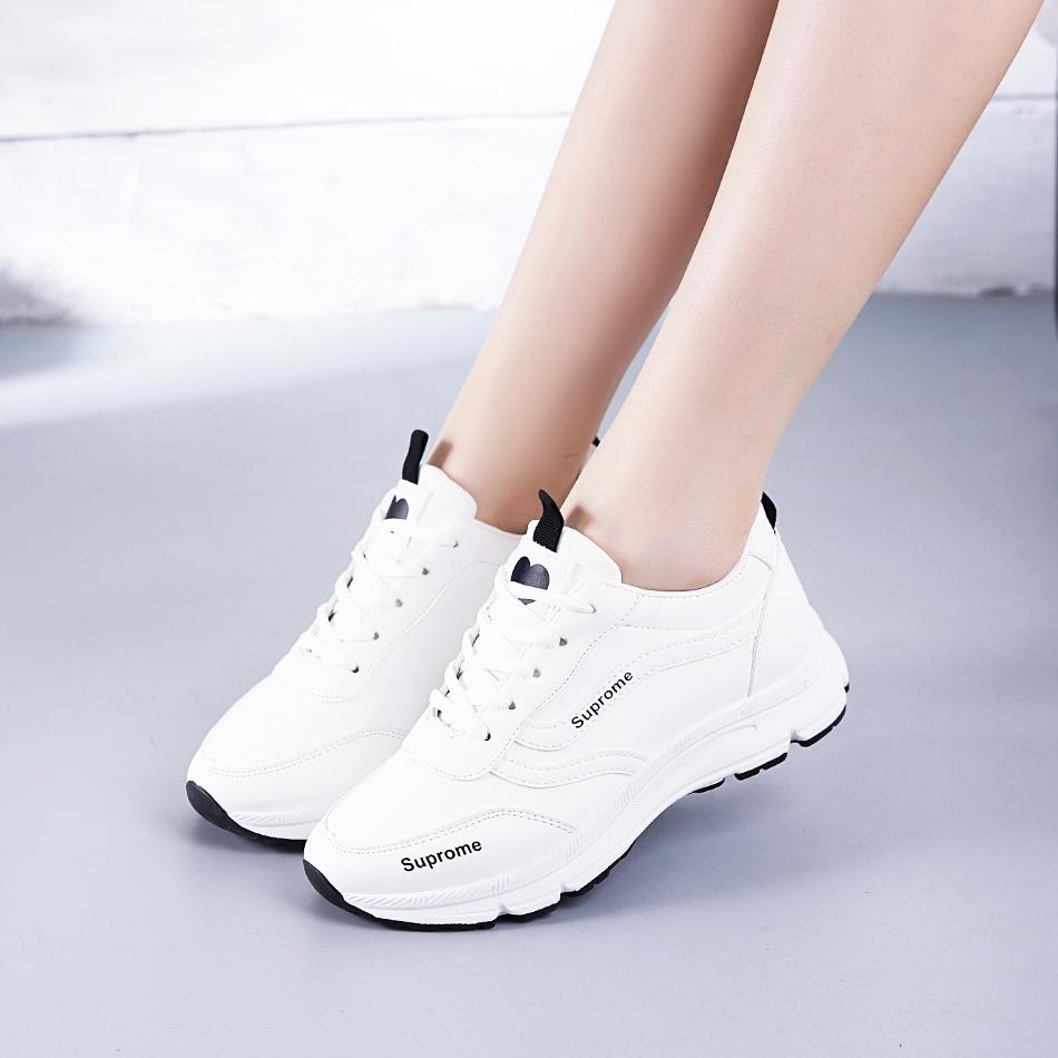 运动鞋女鞋子春季2019新款ins百搭韩版原宿ulzzang休闲跑步小白鞋