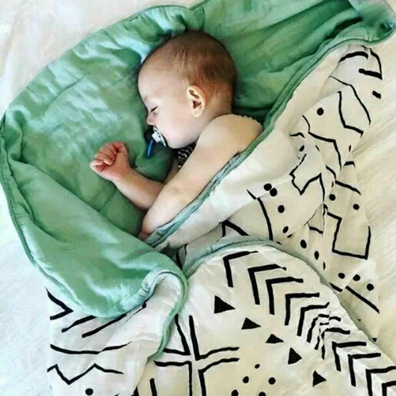 Новорожденных бамбуковый хлопок крышка находятся ребенок лето крышка одеяло восемь марля одеяло ребенок шесть бамбуковые волокна одеяло прохладно летом находятся
