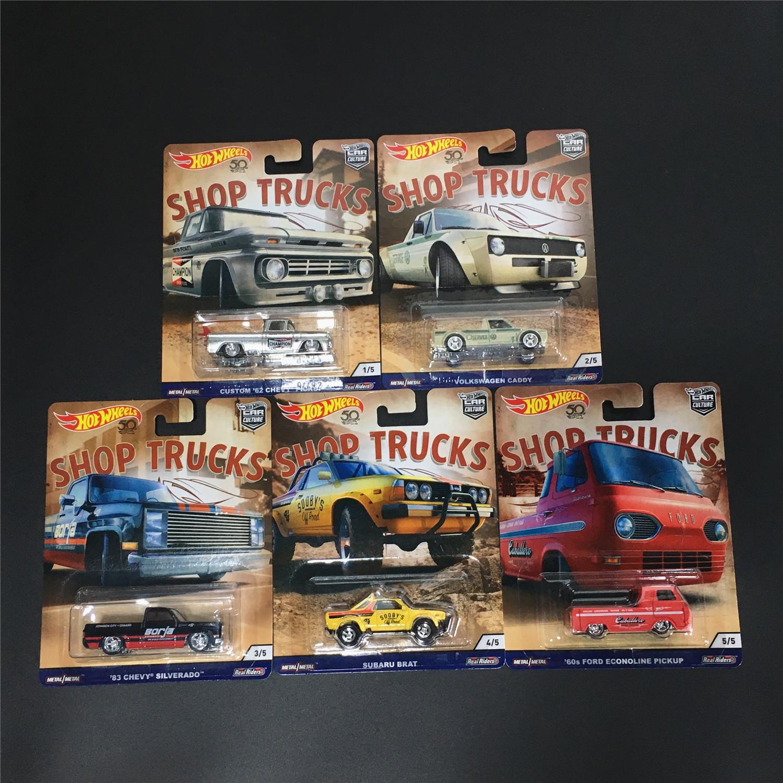 美泰文化商店卡车大众斯巴鲁风火轮
