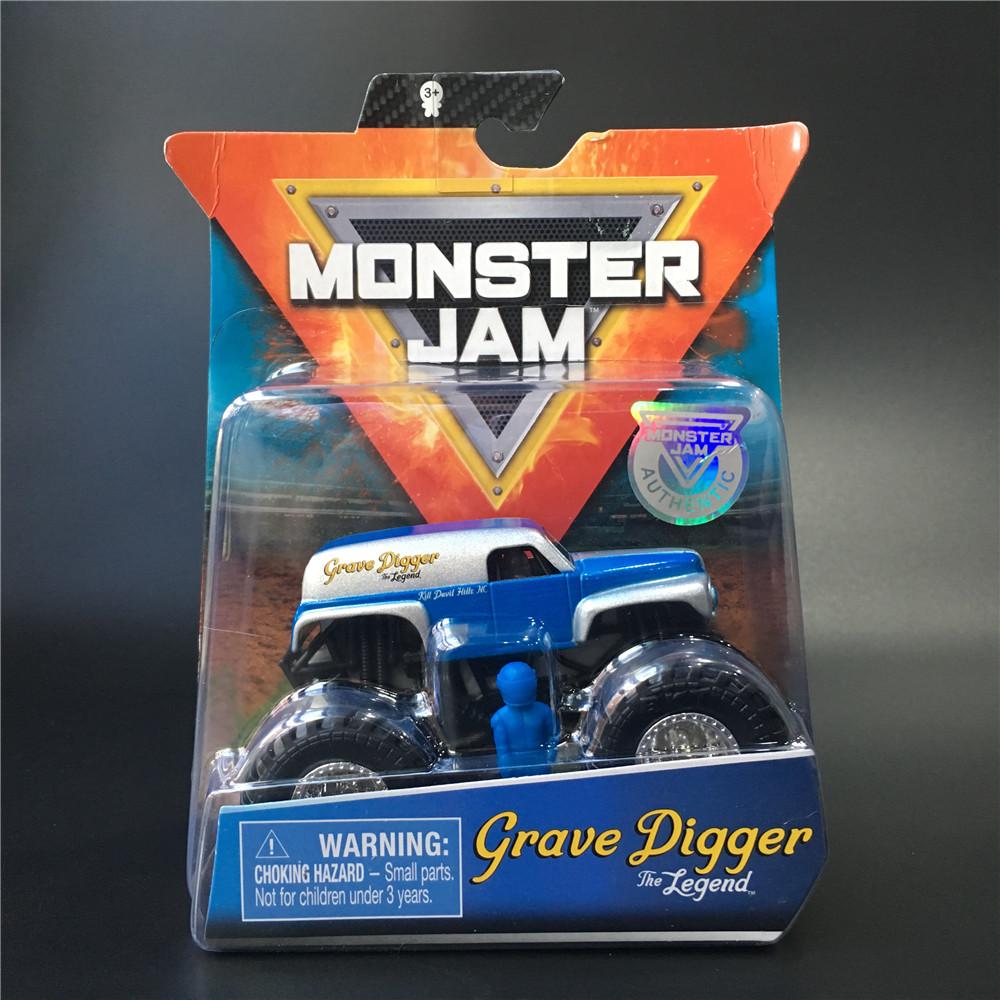 MONSTER JAM斯平玛斯特怪兽大脚卡车 玩具掘墓人传说GRAVE DIGGER