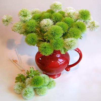 Моделирование трава мяч многоцветный небольшой дудчатый галстук-бабочка шишки детский сад ребенок дом декоративный цветок стрельба реквизит ложный цветок домой декоративный
