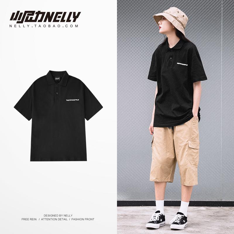 2020夏季新款男士短袖男女polo衫