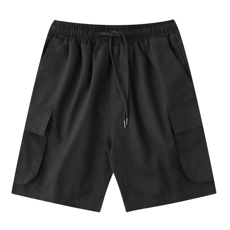 2020夏季新款港风工装短裤男女韩版bf风宽松学生运动休闲短裤潮