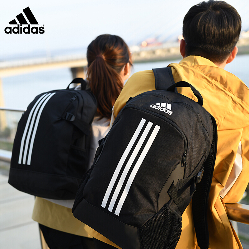 School bag female college student Adidas junior high school student backpack male sports bag large capacity travel high school student backpack
