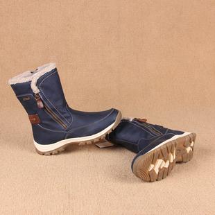 欧洲订单65欧元 高端女士防水加绒保暖户外雪地靴加厚棉鞋