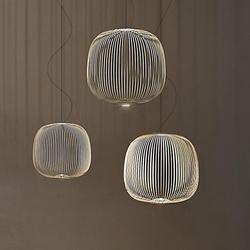 后现代轻奢吊灯个性创意Spokes鸟笼餐厅别墅吧台客厅卧室装饰吊灯