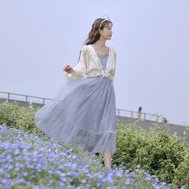 原创森女部落防晒衣薄款开衫长袖女士短外套配裙子春夏2020年新款