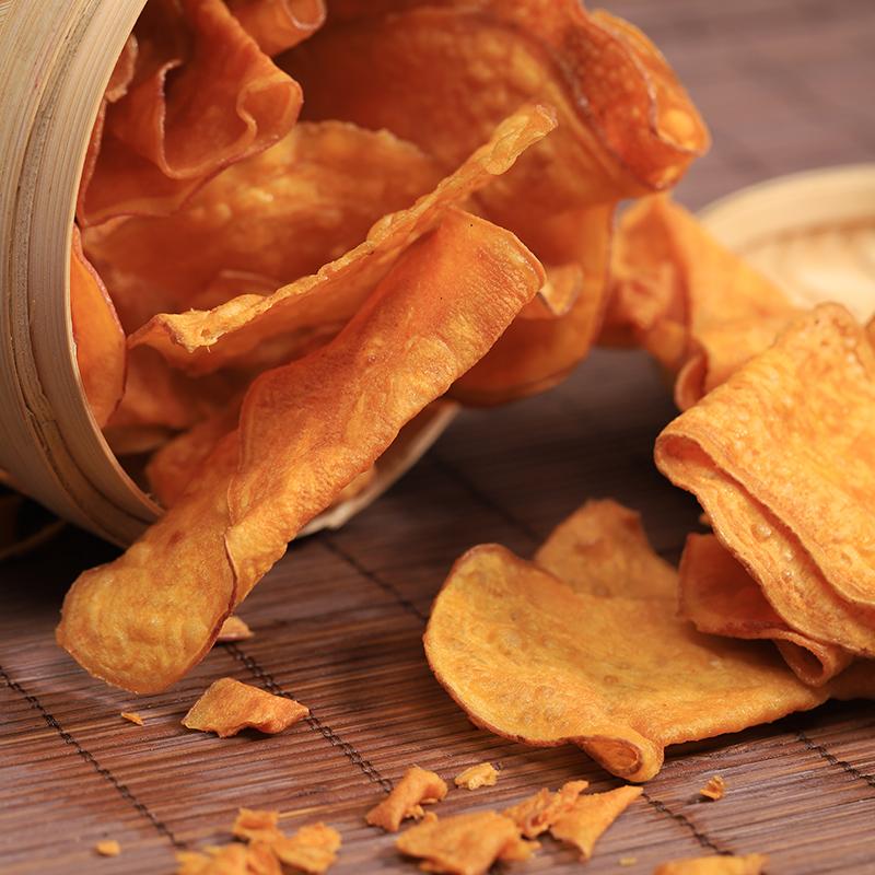 包邮河北特产传统工艺蜂蜜黄薯片不油腻90*10袋手工原味地瓜干