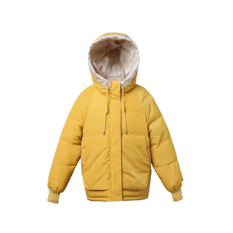 2020年冬季新款棉袄女装韩版ins面包羽绒棉服反季短款棉衣外套潮