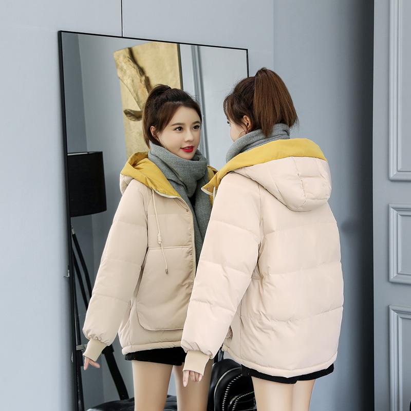 2019年冬季新款棉袄女装韩版ins面包羽绒棉服反季短款棉衣外套潮