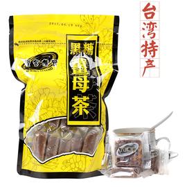 中国台湾淡水老街特产黑金传奇四合一黑糖姜母茶红糖姜茶图片