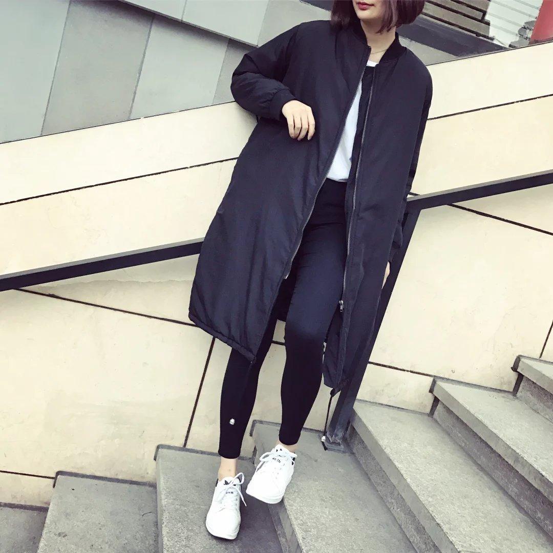 欧美大版女装2017秋薄外套棒球服