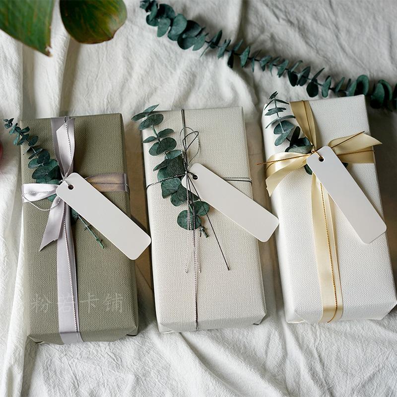 永生的爱恋 尤加利真花礼物礼品包装纸日系套装 生日送礼 含吊牌