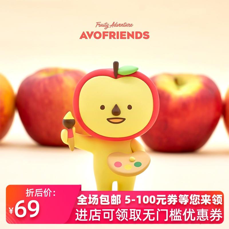 正版 AVO FRIENDS牛油果好朋友系列盲盒手办水果公仔桌面摆件