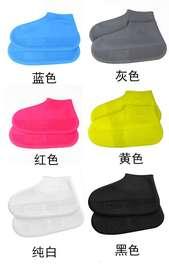 回力硅胶雨鞋套男女加厚可折叠便携下雨天登山旅行用防水防雨鞋套