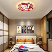 吸顶灯北欧幼儿园男孩房间卡通卧室灯led儿童房灯奥特曼创意护眼