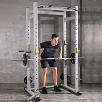 豫龙商用框式自由深蹲架健身杠铃深蹲器杠铃架家用龙门架健身器材