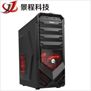 King Cheng Technology Sama Assassin 1 2 3 series heavy version USB3 gaming chassis side through the main section