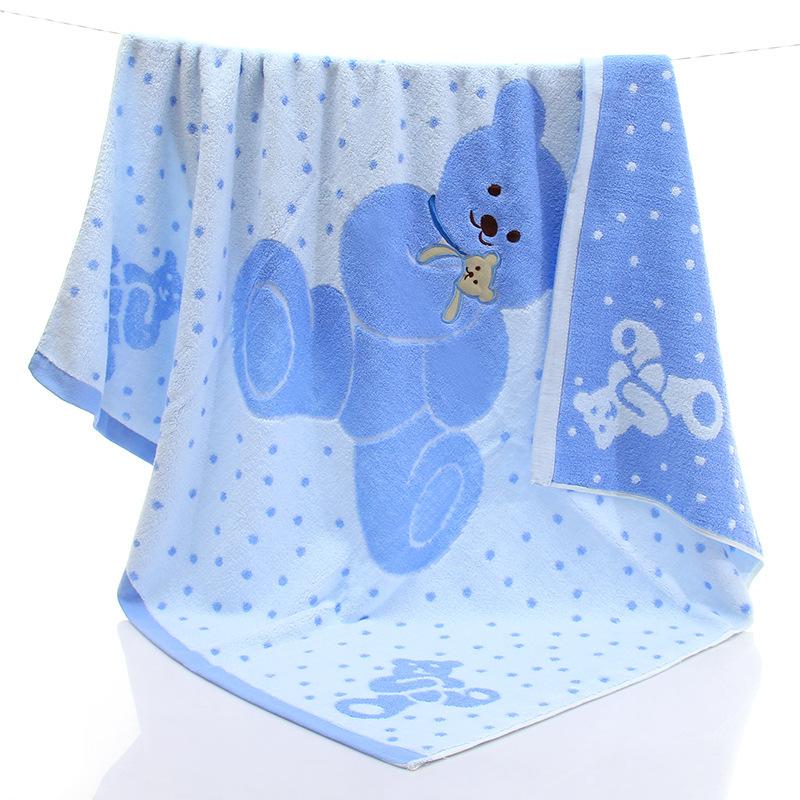 婴儿纯棉浴巾新生儿全棉大盖毯新生宝宝抱被儿童毛巾被超柔软吸水