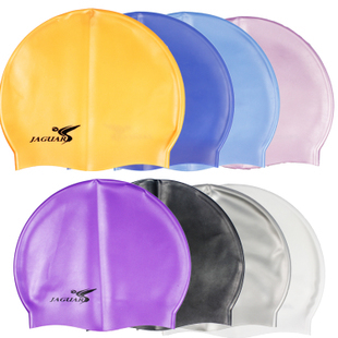 JAGUAR Silicone swimming cap swimming cap Jiejia soft silicone cap 100 authentic guaranteed fake a compensable